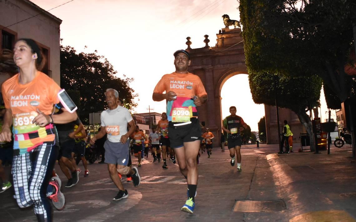 Resultado de imagen de Maratón León